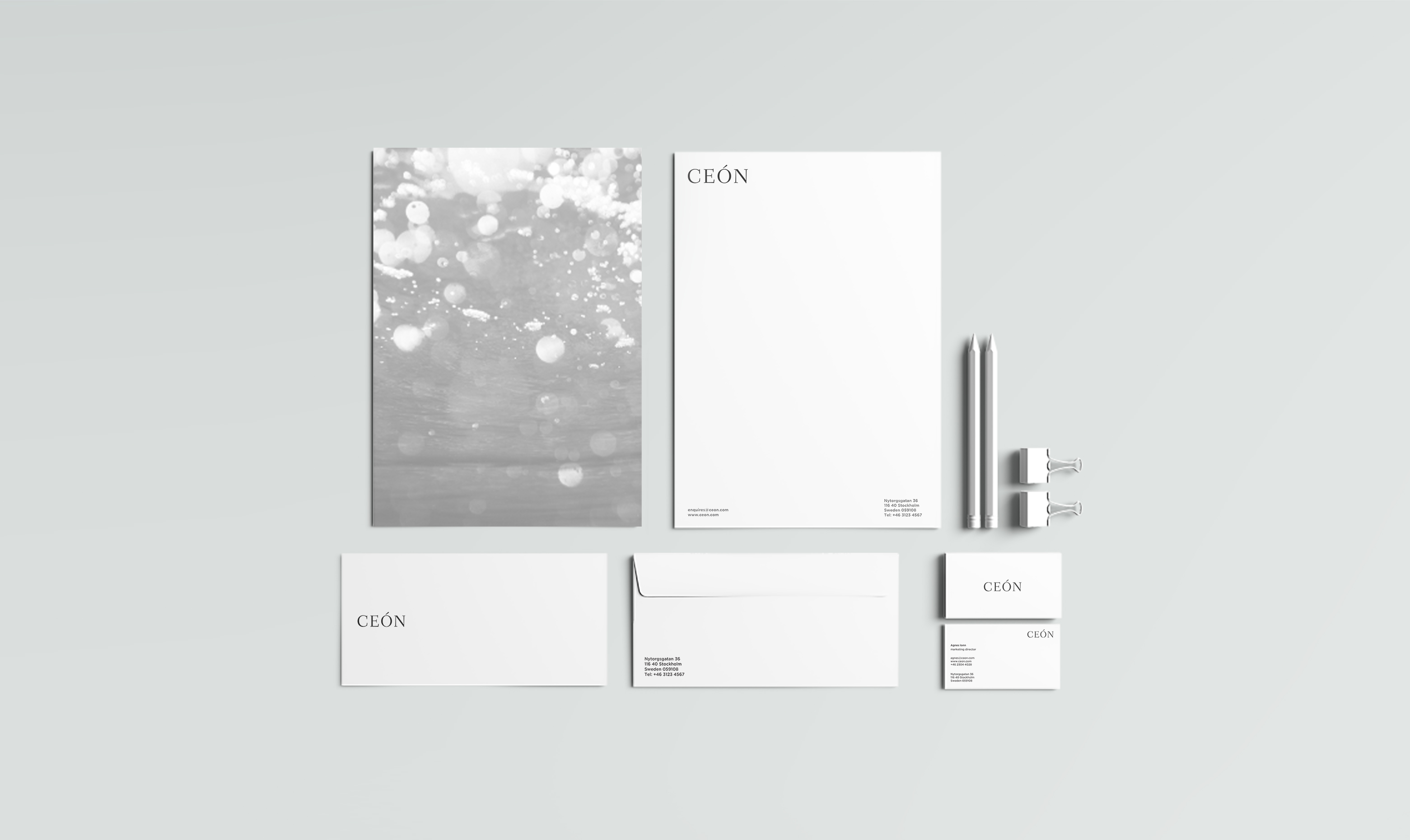 ceon stationery
